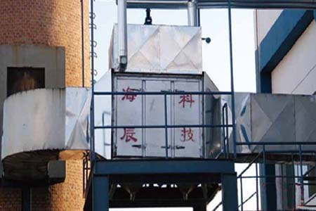 超导热管万博手机版登录回收器在钢铁行业中应用