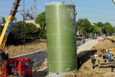 一体化预制贝博下载地址 雨洪应急排水智能贝博下载地址 玻璃钢地埋式污水处理设备