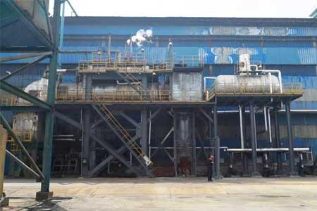 山东某集团碳素公司烟气ballbet平台下载回收项目-碳素厂煅烧窑ballbet平台下载回收