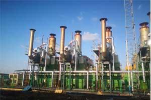上海市某污水处理厂-沼气发电机组ballbet平台下载利用项目