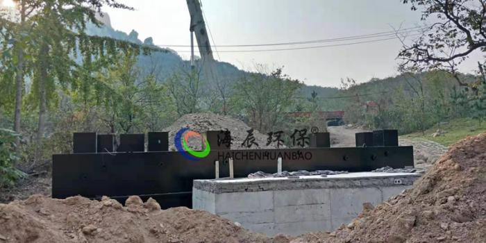 生活污水处理设备 一体化地埋式污水处理设备处理工艺